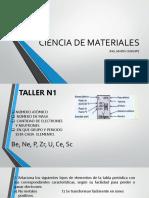 Clase n2. Ciencia de Materiales 22