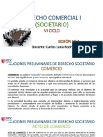 DIAPOSITIVAS D° COMERCIAL I (SOCIETARIO) - CLASE SESIÓN 1