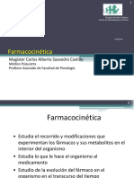 Psicofarmacología y Dependencia, Farmacocinética