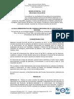Resolucion Resultados Prueba de Conocimientos Empleados Tribunales Lista