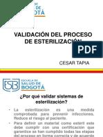 Validacion Del Proceso de Esterilizacion