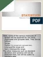 STATISTICS - Median and  Ranges.pptx