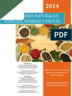 SAZONADORES NATURALES