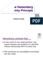 The Heisenberg Uncertainty Principle Final 2014