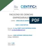 Resumen Ejecutivo Del Caso NETFLIX