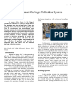 IoT Based Smart Garbage Collection System