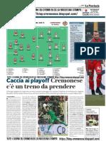 La Provincia Di Cremona 09-05-2019 - Caccia ai PlayOff