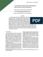 S-PkSec an Asymmetric Key Based Security Management Scheme WSNs