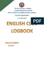 English Club Logbook