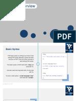 PHP Syntex