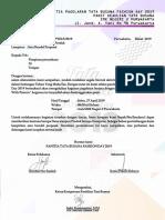 Surat Permohonan Dana Tbfd 2019