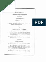 RA 11223 Universal Health Care Act
