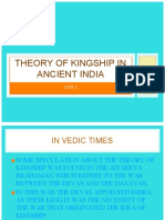 Theory of Kingship in Ancient India