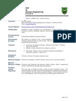 Robotics ABET Course Outline 150930