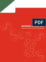 Informe Anual 2018 de Productividad Cnp