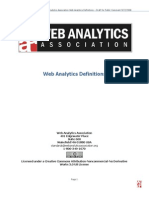 Web Analytics Definitions