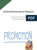 3.7 Menerapkan Media Promosi