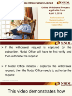Authorisation Process by Nodal Office State