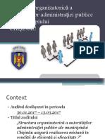 Structura primariei Chisinau