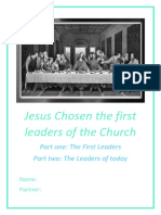 lesson 1-5 jesus chosen the first leaders of the church