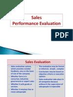 12. Sales Performance Evaluation