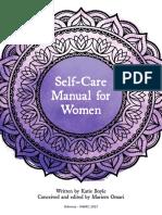 Self-Care Manual for Women