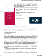 Shapiro, Barbara J. - Beyond Resonable Doubt and Probable Cause