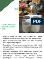 tugas bsk susu 6 7-Mikrobiologi Susu Proses Kerusakan Susu.ppt