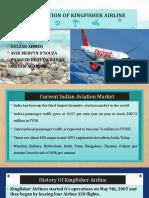 Revitalisation of Kingfisher Airline