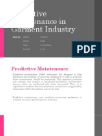 FINAL - Predictive Maintenance in Garment Industry