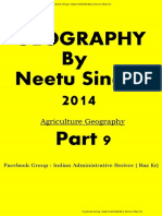 9. Agriculture Geography by  Neetu Singh Class notes part 9 of 14 by Raz kr.pdf