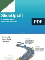 SlideUpLift | Product RoadMap PowerPoint Templates | Product RoadMap PPT Slide Designs
