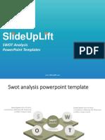 SlideUpLift   SWOT Analysis PowerPoint Templates   SWOT Analysis PPT Slide Designs