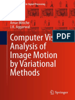 Topics in Signal Processing Volume 10 - Computer Vision Analysis of Image Motion by Variational Methods (2014) [Amar Mitiche, J.K. Aggarwal]