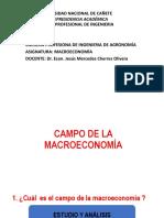 Undc- Campo de La Macroeconomia- Agronomia- 2019-i