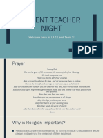 parent teacher night ppt