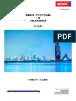 TRAVEL WITH KESARI MICE - DUBAI - PROPOSAL.pdf