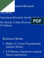 Formulation of LPP's