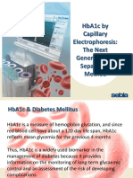 1 Sebia - Presentation 1 HbA1c Next Generation Separation Method (Aug 2017) - English