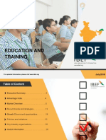 Education and Training Report July 2018