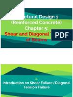 Chapter 5 - Shear and Diagonal Tension on Beams.pdf