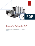 Printer's Guide to G7