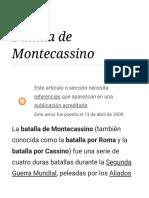 Batalla de Montecassino