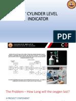 Oxy Cylinder Level Indicator