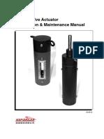 SSV Operation and Maintenance Manual
