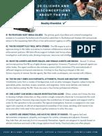 20 FBI Cliches Checklist PDF Revised 3-13-2019