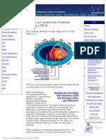 Amsup.com - Theory of Inventive Problem Solving (TRIZ)