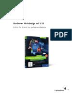Modernes Webdesign Mit CSS - Galileo Design