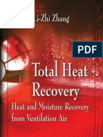 Total Heat Recovery Heat and Moisture Recovery From Ventilation Air