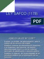 Ley Safco (1178)
